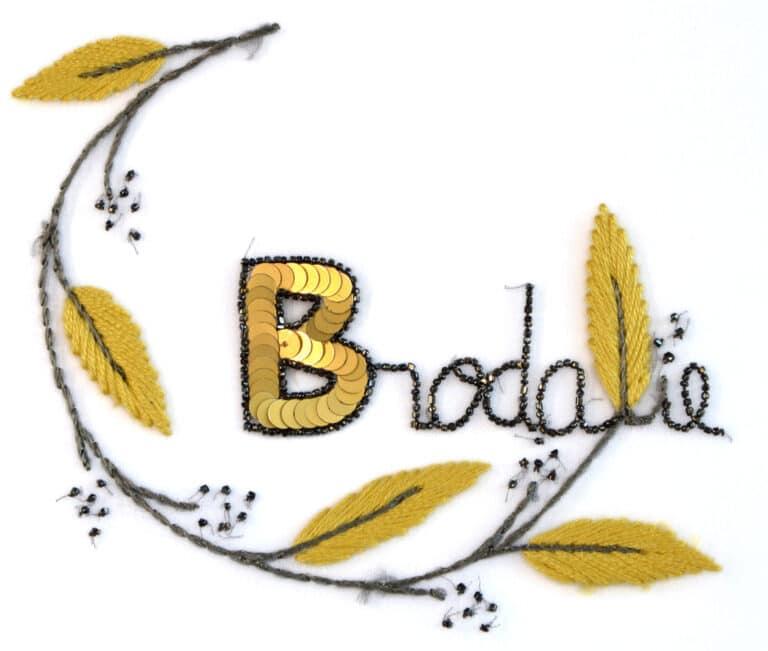 Brodalie Jaune Bd Logo